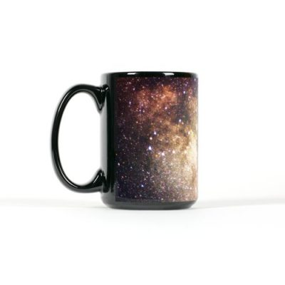 Milky Way Mug left view 15 oz