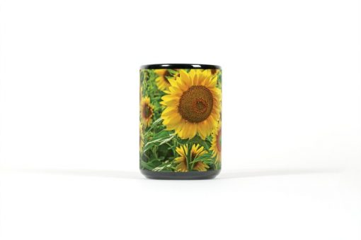Sunflower mug center view